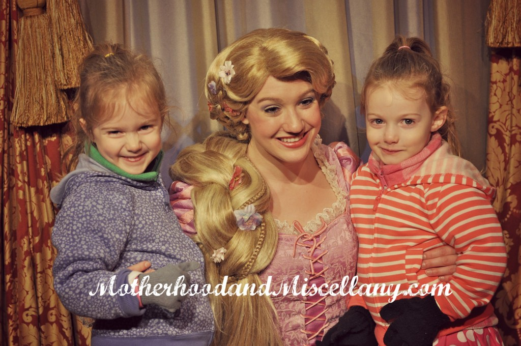 Girls and Rapunzel