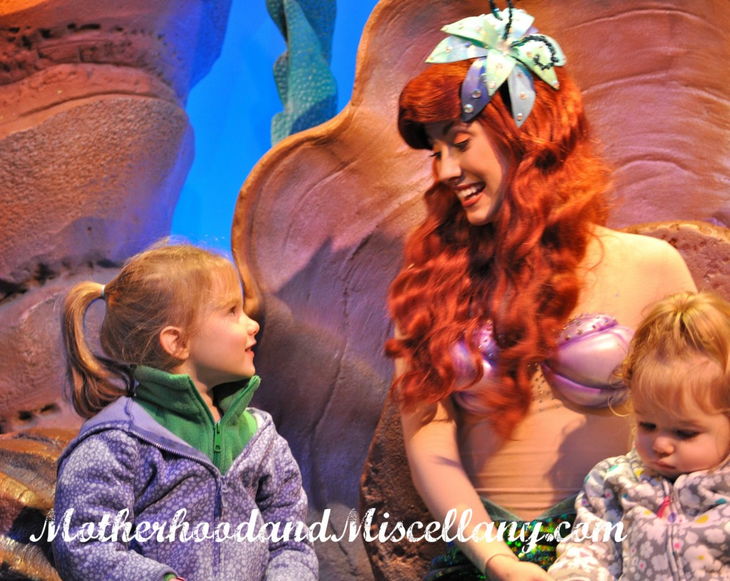 Miss and Ariel 2