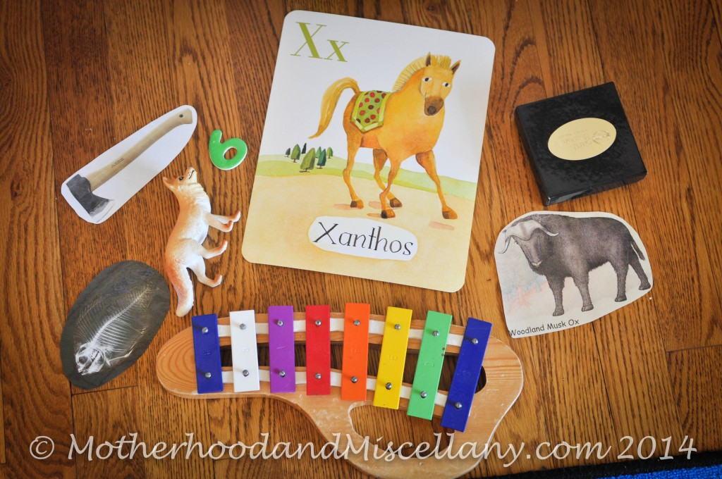 Preschool X Marks The Spot And X Ray Motherhood And Miscellany