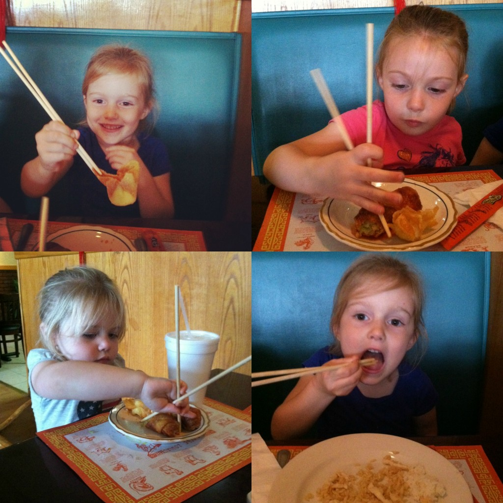 Chopsticks collage